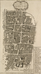 Bread Street ward and Cardwainter ward with its division into parishes taken from the last survey (1754)
